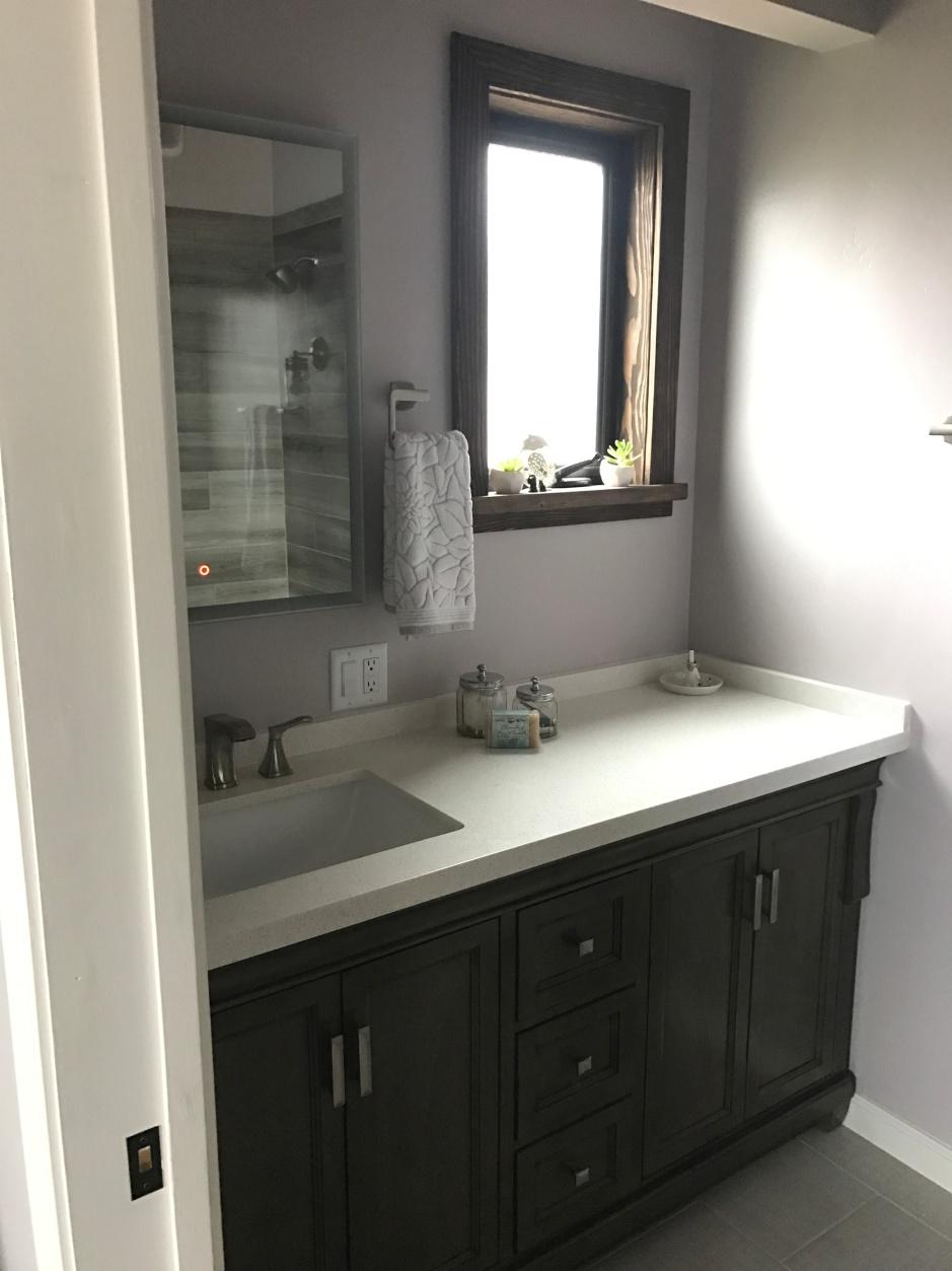 Spa Inspired Bathroom Remodel