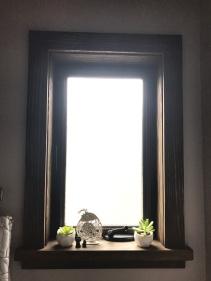 Custom Sandblast Window Frame