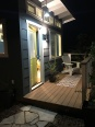 Nighttime Shot of the San Diego She-Shed