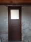 Exterior Door, Whitewashed Brick